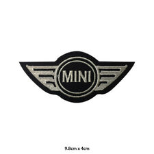 Mini Car Bran Motor Sport Embroidered Patch Iron on Sew On Badge For Clothes etc