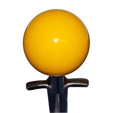 Yellow 4 Speed shift knob for Muncie rev lockout Corvette, Nova, Chevelle Impala