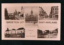 Belgium Groeten uit SINT-NIKLAAS M/view c1920/30s? RP PPC