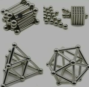 Magnetic rods and Steel balls