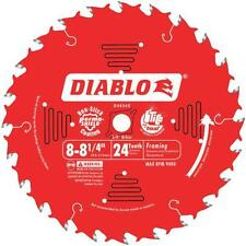 "Freud 8-1/4"" 24T Diablo Carbide Tipped Saw Blade D0824X"