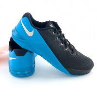 Nike Metcon 5 Men's Size 8 Cross Training Shoes Black Blue Sneakers AQ1189 040