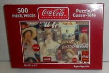 Coca-Cola Play Refreshed Sealed Puzzle 500 Piece Contour Bottle Ladies 2004 Mint