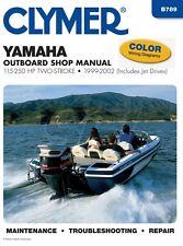 Clymer Yamaha Outboard Shop Manual 100-250 HP 2 Stroke 1999-2002
