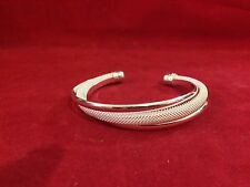 Charming 925 Sterling Silver Women's   Bangle Bracelet