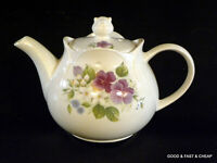 SADLER English China ~ 2 Cup MINI TEAPOT ~ PANSY PATTERN DESIGN