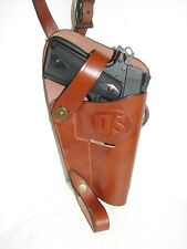 Right hand M3 Tanker Leather Shoulder Holster (reproduction) WWll era