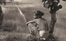 1930's Vintage CEYLON Sri Lanka Semi Nude TOPLESS YOUTH Photo Art ~ LIONEL WENDT