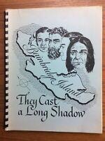 Scarce 1975 BAINBRIDGE ISLAND They Cast A Long Shadow HISTORY & PHOTOS Book WA