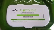 MEDLINE ALOETOUCH PERSONAL CLEANSING CLOTHS SCENTED 100 COUNT HYPOALLERGENIC NEW