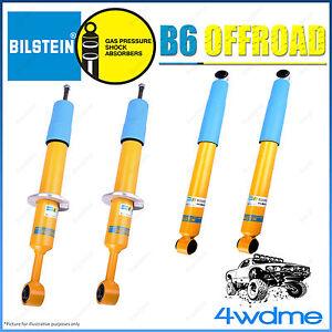 For Nissan Navara D40 Bilstein B6 Offroad Monotube Front & Rear Shock Absorbers
