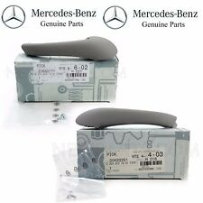 Mercedes S203 W203 Pair Set of Front Left & Right Interior Door Pull Handles OES