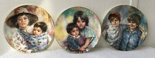 3 Royal Doulton Collector Plates Lisette DeWinne - (522)