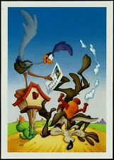 THE 2000 WILE E. COYOTE & ROAD RUNNER OFFICIAL USPS PRE-STAMPED POSTCARD