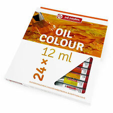 Reale Talens - Arte Creation Colori ad Olio Principianti Set - 24 x 12ml Tubetti