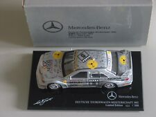 """DEUTSCHE TOURENWAGEN MEISTERSCHAFT"" Mercedes 190E LOHR 1992 limited Minichamps"