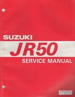 1997 SUZUKI MOTORCYCLE JR50  SERVICE MANUAL P/N 99500-20160-01E (091)