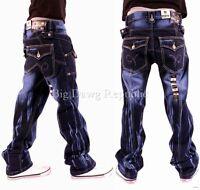 "Peviani Mens Boys ""True Super Star Ricky"" Jeans Religion Money Time Is R Nappy"