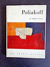 Poliakoff by Michel Ragon excellent condition, 12 color plates 1958 inv261
