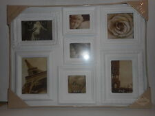 """Vintage Maison Photo Frame Pictures White Resin 23""""X17"""" Wall Frame New"""