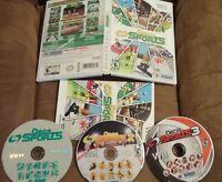 Deca Sports 1 2 3 Nintendo Wii 3 Game Bundle