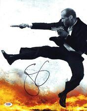 Jason Statham SIGNED 11x14 Photo Spy Mechanic Fast 8 PSA/DNA AUTOGRAPHED RARE