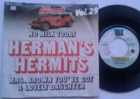 "Herman's Hermits / No Milk Today 7"" Single Vinyl 1966 Oldie Flashback Vol. 29"