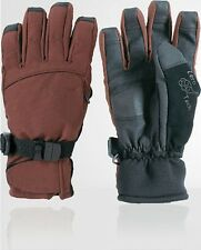 """GLOVES ZERO """"THE GRINDER"""" MEN'S LARGE BROWN SNOWBOARD SKI WINTER, NEW WITH TAGS"""