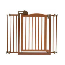 """New listing Richell One-Touch Brown Pet Gate Ii, 36.4"""" x 30.5"""" x 2"""""""