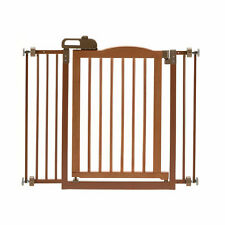 "Richell One-Touch Brown Pet Gate Ii, 36.4"" x 30.5"" x 2"""