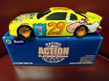 1996 ACTION 1:24 DIECAST #29 STEVE GRISSOM CARTOON NETWORK NASCAR  BANK