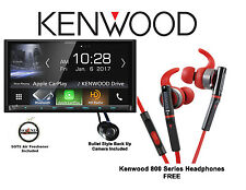 Kenwood DMX7704S Digital Media Receiver KH-SR800R Headphones Back Up Camera