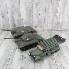 MARKE ? - 1:35 - 3 teiliges Konvolut UDSSR Russland LKW Panzer Rakete - #AE42659