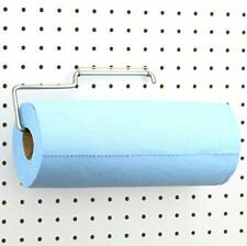 Pegboard Paper Towel Holder Stainless Steel Hooks To Any Peg Board