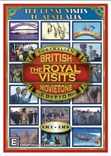 A TIME TO REMEMBER: ROYAL VISITS TO AUSTRALIA 1901-1968: 4DVD NEW BOXSET