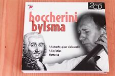Boccherini - Concertos violoncelle 4 Sinfonias Octuor - Anner Bylsma -  2CD Sony
