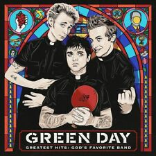 Green Day GREATEST HITS: GOD'S FAVORITE BAND Best Of 22 Songs NEW VINYL 2 LP