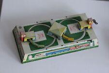 Jouet mécanique en Tôle lithographiée Train circuit à clé era Technofix