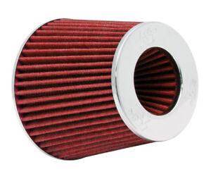 "RG-1001RD K&N Universal Chrome Air Filter 6"" OD B X 5""H W/4"", 3-1/2"", 3""DIA FLG"