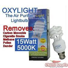 Ionmax Oxylight 15W 5000K B22 Bayonet negative ion Ionic Energy saver light bulb