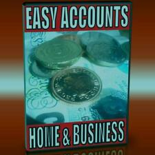 EASY ACCOUNTS SYSTEM HOME & SMALL BUSINESS SOLUTIONS PC-CD EASY SET UP & USE NEW