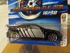 Hot Wheels AMG-Mercedes CLK DTM #016 2006 First Editions Black
