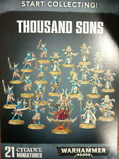 WARHAMMER 40K START COLLECTING THOUSAND SONS - NEW AND SEALED