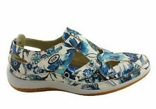 CC Resorts Jackie Womens Comfortable Casual Shoes 7 Aus or 38 EUR Blue Flower Print