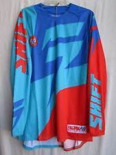 MENS adult motocross SHIFT FACTION jersey EXTRA LARGE 14531-592-XL org/blu