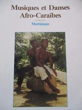 Musiques et Danses Afro-Caraïbes Martinique