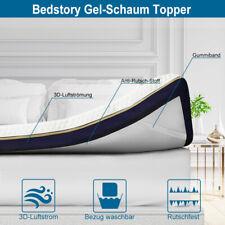BedStory Matratze Topper Cooling Gel-Memory Schaum 9 Zonen Bambus H3 H2 für Bett