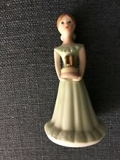"Enesco 1981 Growing Up Birthday Girls ""Age 11� Ln Brown Hair"