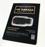 Ultimate UK Garage Collection - x1100 Un-mixed Full Length High Quality Tracks