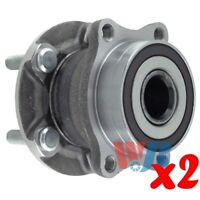 Pack of 2 Rear Wheel Hub Bearing Assembly replace 512401 HA590313 BR930766